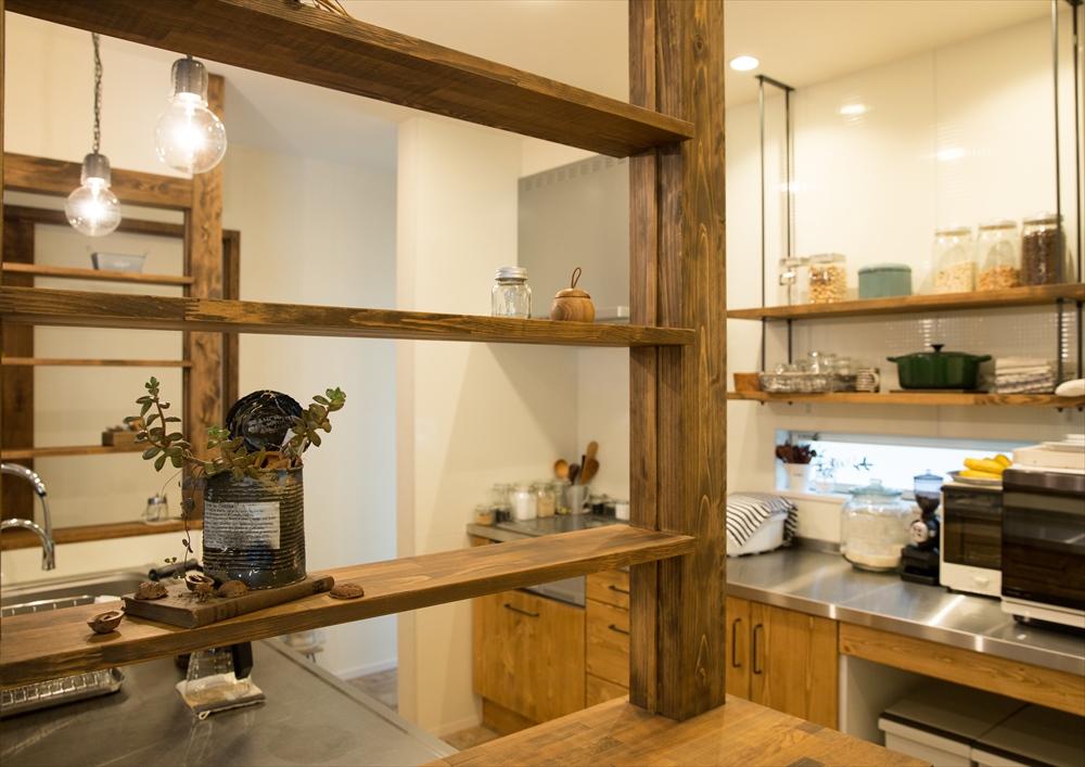 大人かわいいカフェ風のお家